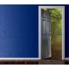 Cesta do lesa (92 × 210 cm) -  Živá dekorace na dveře