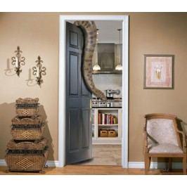Anakonda (92 × 210 cm) -  Živá dekorace na dveře