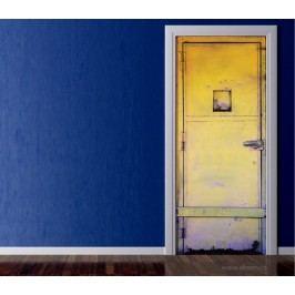 Plechové (92 × 210 cm) -  Živá dekorace na dveře