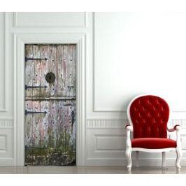 Bílá patina (92 × 210 cm) -  Živá dekorace na dveře