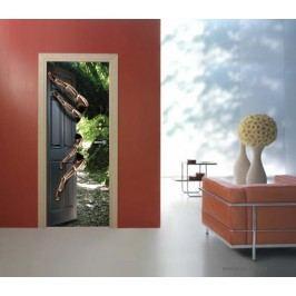 Pavouk (92 × 210 cm) -  Živá dekorace na dveře