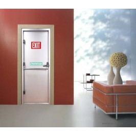 Únikový východ (92 × 210 cm) -  Živá dekorace na dveře