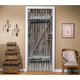 Dveře od chlívu (92 × 210 cm) -  Živá dekorace na dveře