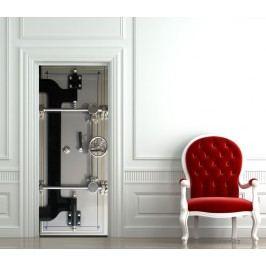 Dveře do trezoru (92 × 210 cm) -  Živá dekorace na dveře
