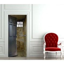 Cela ve vězení (92 × 210 cm) -  Živá dekorace na dveře