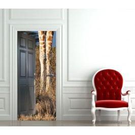 Safari (92 × 210 cm) -  Živá dekorace na dveře