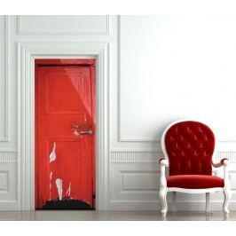Dřevěné dveře (92 × 210 cm) -  Živá dekorace na dveře