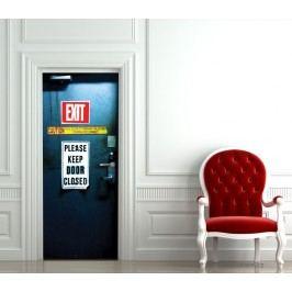 Exit (92 × 210 cm) -  Živá dekorace na dveře