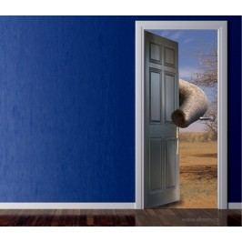 Chobot (92 × 210 cm) -  Živá dekorace na dveře