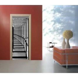 Průchod (92 × 210 cm) -  Živá dekorace na dveře