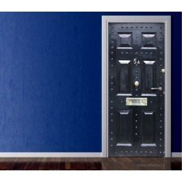 Anglický styl (92 × 210 cm) -  Živá dekorace na dveře