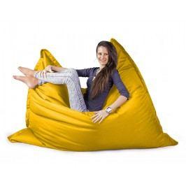 CrazyShop Sedací vak Standard 144x180 cm, žlutý