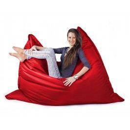 CrazyShop Sedací vak MAXI 140x200 cm, červená
