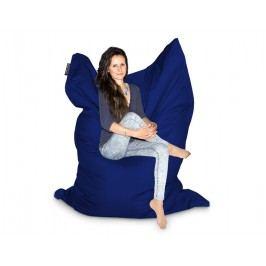 CrazyShop Sedací vak XXXL 140x220 cm, tmavě modrá