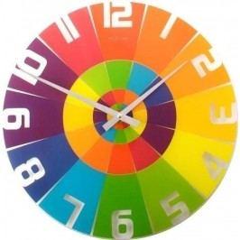 Designové nástěnné hodiny 8129 Nextime Rainbow 43cm