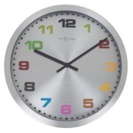 Designové nástěnné hodiny 2906kl Nextime Mercure 25cm