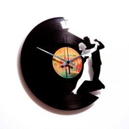 Designové nástěnné hodiny Discoclock 023 Tango 30cm