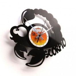 Designové nástěnné hodiny Discoclock Z08 Štír 30cm