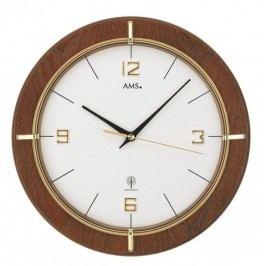 Nástěnné hodiny 5832 AMS řízené rádiovým signálem 29cm