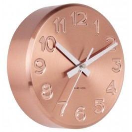 Designové nástěnné hodiny 5477CO Karlsson 19cm