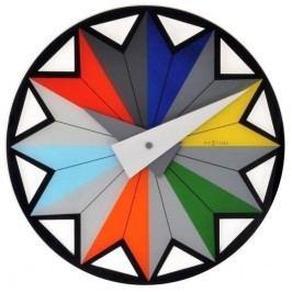 Designové nástěnné hodiny 8163 Nextime Circus 43cm