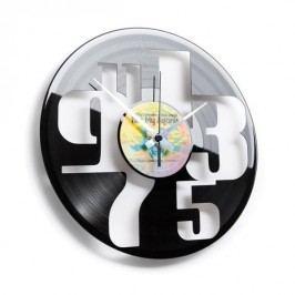 Designové nástěnné hodiny 055 Čísla 30cm