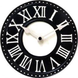 Designové nástěnné hodiny 5187zw Nextime v aglickém retro stylu 17cm