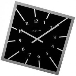 Designové nástěnné hodiny 8176zw Nextime Off Balance 56cm