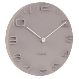 Designové nástěnné hodiny 5311GY Karlsson 42cm