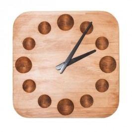 Dřevěné nástěnné hodiny A-0028 IdealWood 32cm