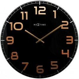 Designové nástěnné hodiny 3105bc Nextime Classy Large 50cm