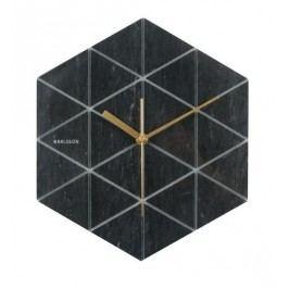Designové nástěnné hodiny KA5591BK Karlsson 28,5cm
