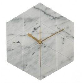 Designové nástěnné hodiny KA5591WH Karlsson 28,5cm