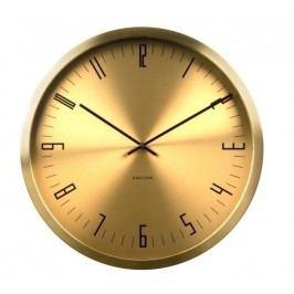 Designové nástěnné hodiny KA5612GD Karlsson 44cm