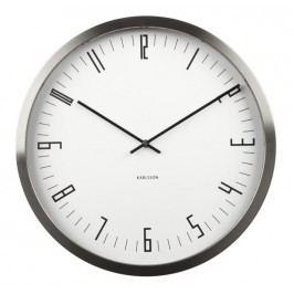 Designové nástěnné hodiny KA5612WH Karlsson 44cm