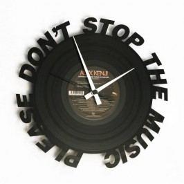 Designové nástěnné hodiny Discoclock 084 Dont Stop Music 30cm
