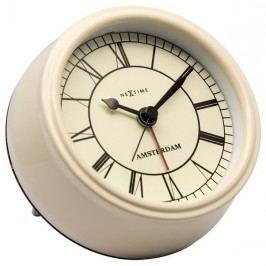 Designové stolní hodiny 5199cr Nextime Small Amsterdam 11cm