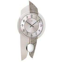 Designové nástěnné kyvadlové hodiny 7410 AMS 50cm