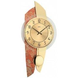 Designové nástěnné kyvadlové hodiny 7407 AMS 50cm