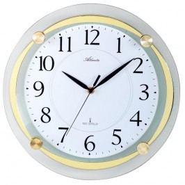 Designové nástěnné hodiny AT4297-9 řízené signálem DCF