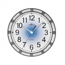 Nástěnné hodiny AT4458-4 s automatickým nočním LED podsvětlením