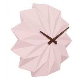 Designové nástěnné hodiny KA5531PI Karlsson Origami 27cm