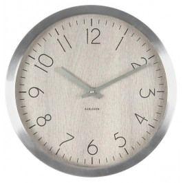 Designové nástěnné hodiny 5608WH Karlsson 60cm