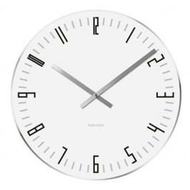 Designové stolní i nástěnné hodiny 5615WH Karlsson 17cm