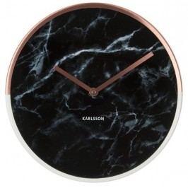 Designové nástěnné hodiny 5605BK Karlsson 30cm