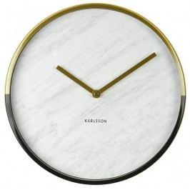 Designové nástěnné hodiny 5606WH Karlsson 30cm