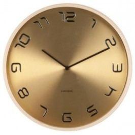 Designové nástěnné hodiny 5611GD Karlsson 35cm