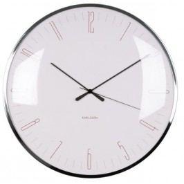 Designové nástěnné hodiny 5623PI Karlsson 40cm