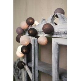 BallDesign 50 odstínů šedi (sada 20 balónků) -  Svíticí bavlněné koule
