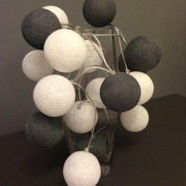 BallDesign 101 dalmatinů (sada 20 balónků) -  Svíticí bavlněné koule